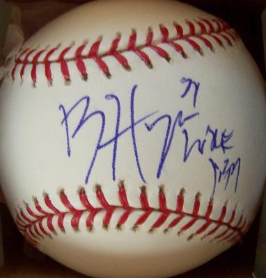 Bryce Harper autographed MLB baseball