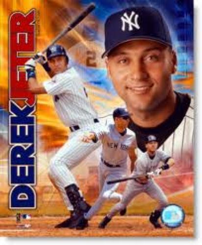 Yankees Derek Jeter broke into the 3000 hit club today at Yankee Stadium