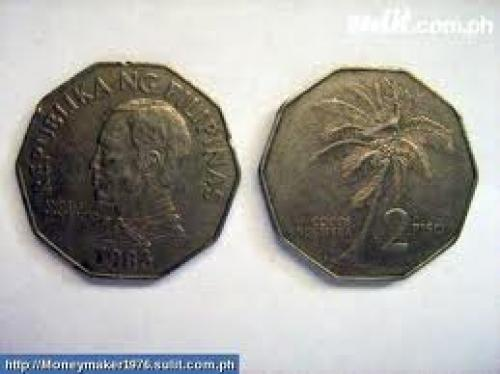 Philippine Coin; 2 Pesos; Year: 1983