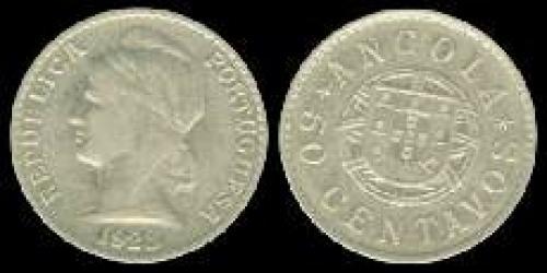50 centavos 1922-1923 (km 65)