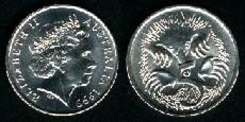 5 cents; Year: 1999; (km 401)