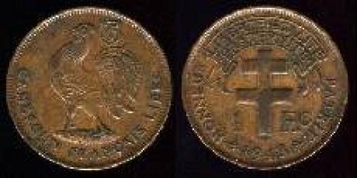 1 franc 1943 (km 7)