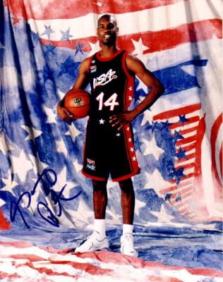 Gary Payton autographed 8x10 USA Basketball photo