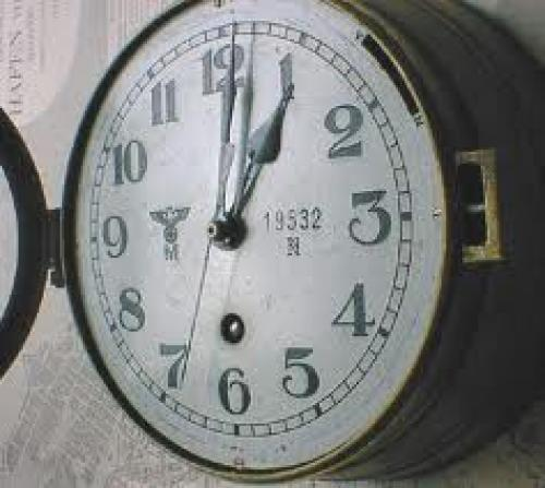 Militaria; kreigsmarine Clock