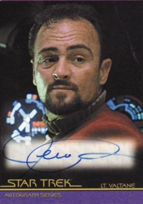 Jeremy Roberts Star Trek certified autograph card