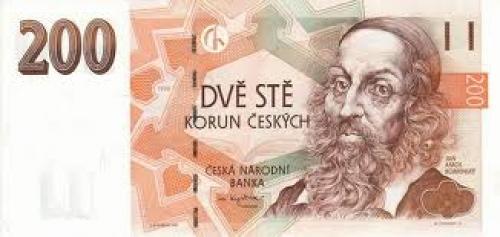 Banknotes; Banknote; 200‑czech‑koruna‑CZK