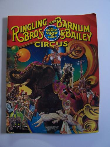 Vintage Collection of Five 1970s-80s Ringling Bros Circus Programs