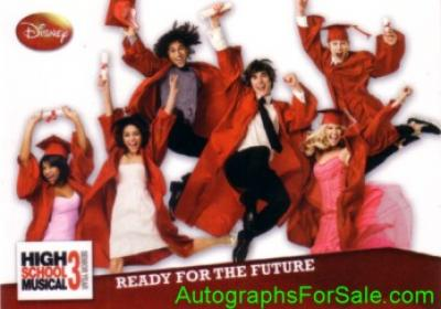 High School Musical 3 2008 Topps promo card P1
