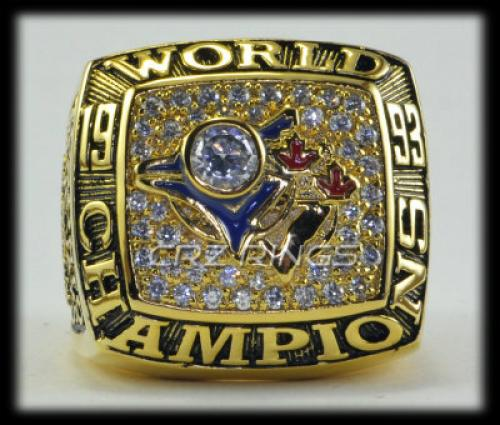 Toronto Blue Jays 1993 World Series Championship RING