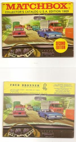 1969 Matchbox Catalog