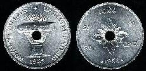 50 cents 1952 (km 6)