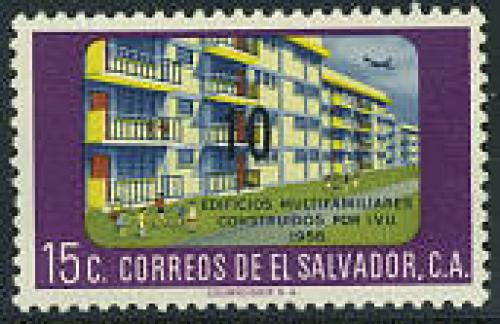 Overprint 1v; Year: 1962