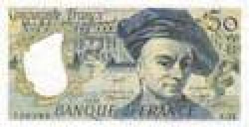 50 Cinquante Francs; Older issue