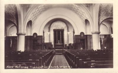 National Presbyterian Church (Washington DC) vintage postcard