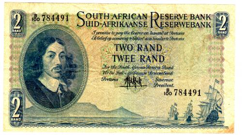 Auction	 South Africa 2 Rand