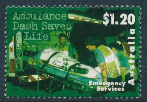 Australia 1997: $1.20 Emergency Services Used (sg 1701)