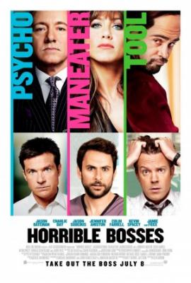 Horrible Bosses 2011 full size 27x40 inch movie poster (Jennifer Aniston)