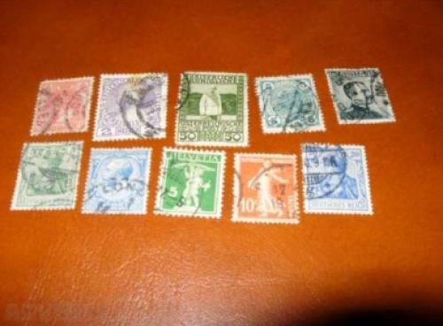 Lot Mix Stamps-10 Pcs.