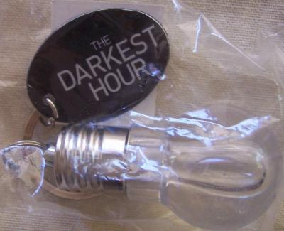 Darkest Hour 2011 Comic-Con promo lightbulb penlight keychain
