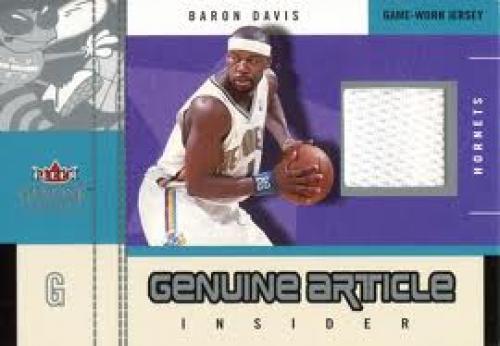 Baron Davis 2004 No.379 of 400 Fleer New Orleans Hornets Basketball Card