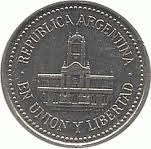 Coins; Argentina 25 centavos Aluminium coin