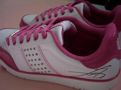 Venus Williams autographed Eleven signature model tennis shoes