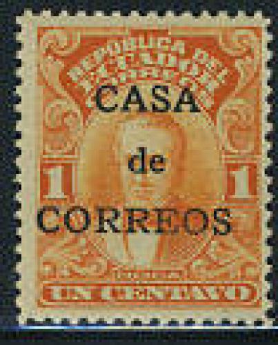 Casa de correos 1v; Year: 1920