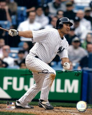Johnny Damon autographed 8x10 New York Yankees photo