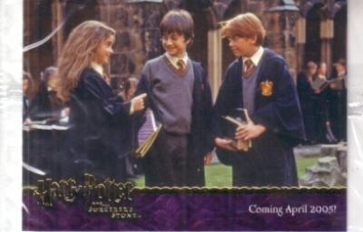 Harry Potter and the Sorcerer&#039;s Stone album or binder promo card 03