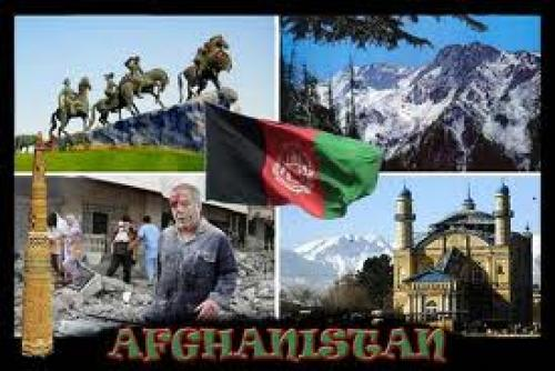 afghanistan postcard