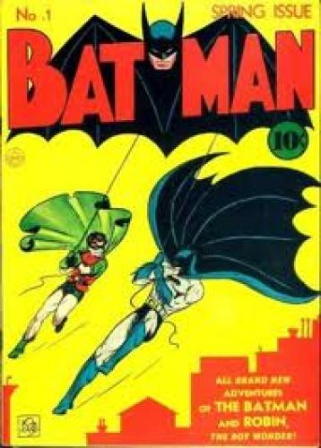 Comics; Bob Kane Comic Art