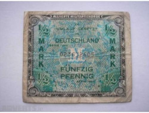 Germany 1/2 mark 1944-rare
