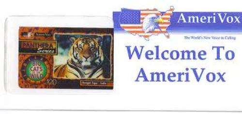 Animals Big Cat Bengal AmeriVox Collectible Phone Card