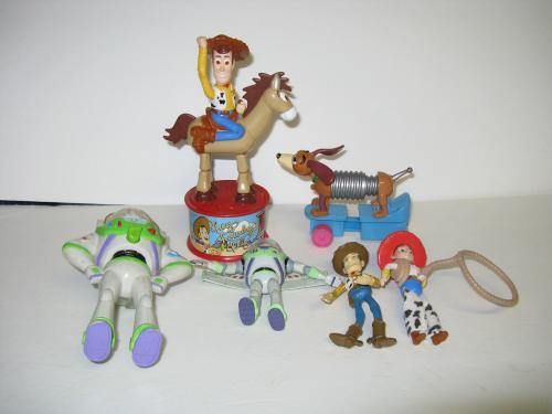 LOT OF OLDER TOYSTORY