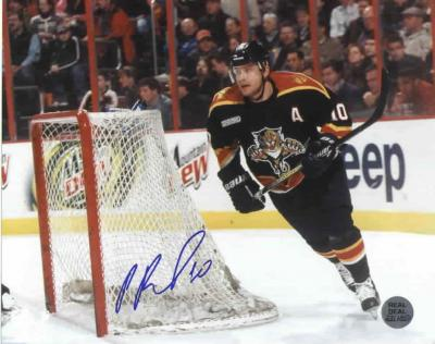 Pavel Bure autographed 8x10 Florida Panthers photo