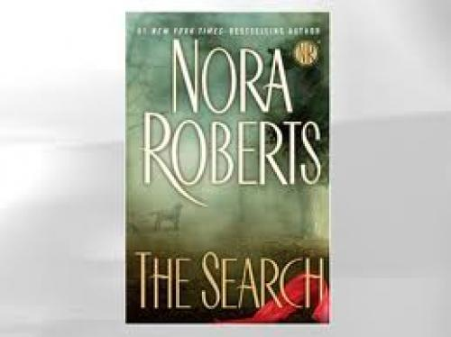 "Summer Books. ""The Search"" by Nora Roberts."