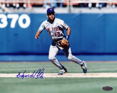 Edgardo Alfonso autographed New York Mets photo (Steiner)