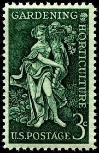 Stamps; US stamps; Forest Conservation; 3c