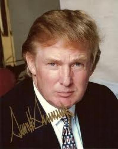 Memorabilia; Donald Trump; Autographed memorabilia collections