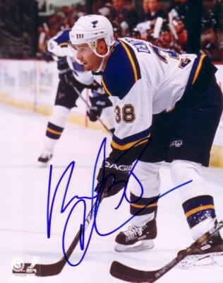Pavol Demitra autographed St. Louis Blues 8x10 photo