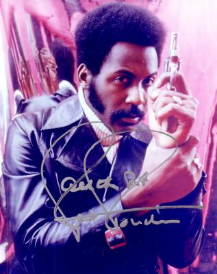 Richard Roundtree autographed 8x10 Shaft photo