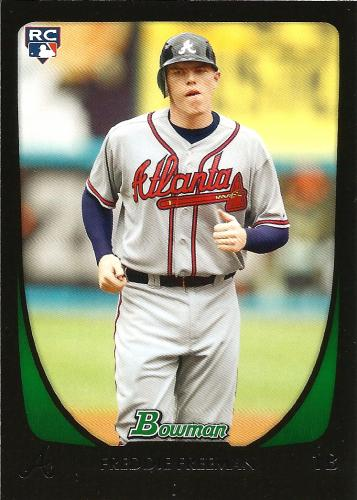 2011 Bowman #205 ~ Freddie Freeman RC