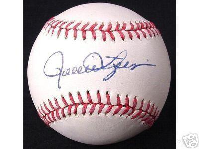 Rollie Fingers autographed AL baseball