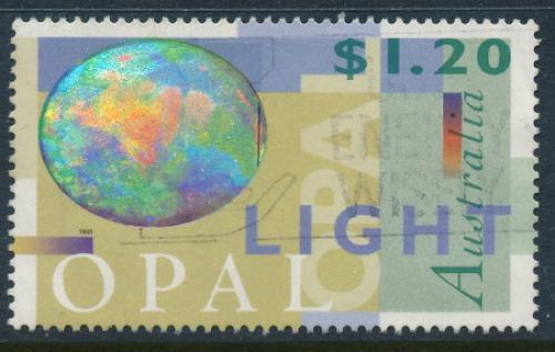 Australia 1995: $1.20 Light Opal Used (sg 1518)