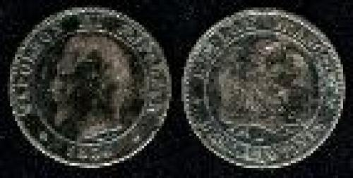 2 centimes; Year: 1853-1857; (km 776)