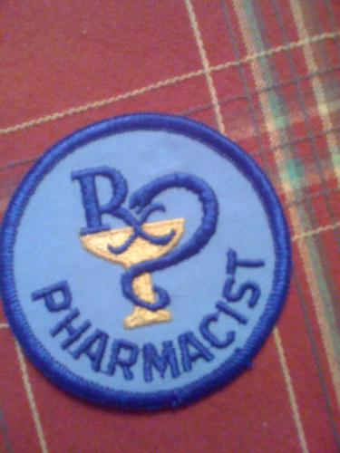 Old RX Pharmacist patch