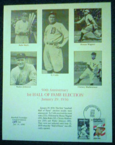 50th Anniversary Baseball HoF