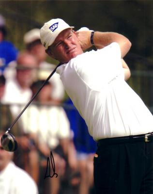 Ernie Els autographed 8x10 photo