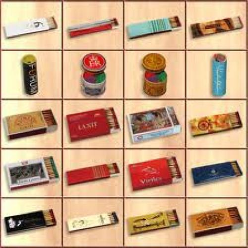 Match Boxes; hand crafted novelty match boxes