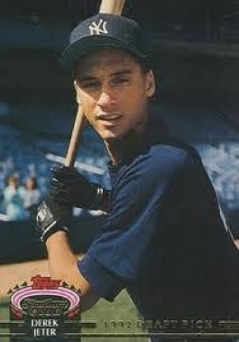 Baseball Card; Jeter's rarest Rookie Card